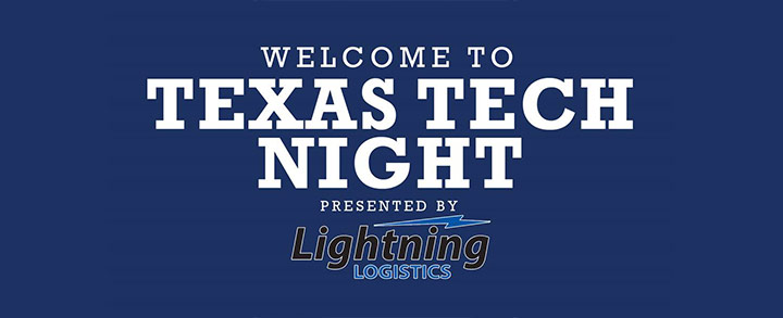 Welcome to Texas Tech Night With the Houston Astros